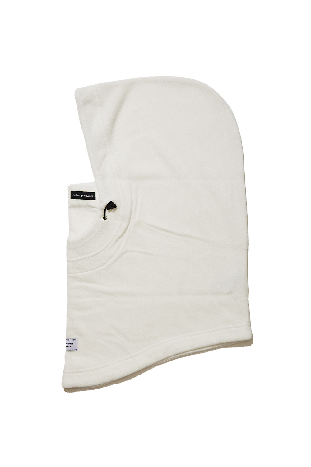 HOOD WARMER / FLEECE | WHITE
