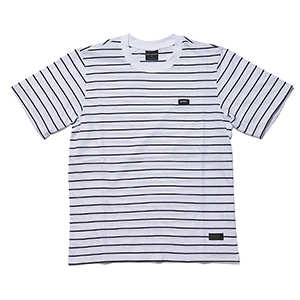WP (zullmoonie) short sleeve white/navy