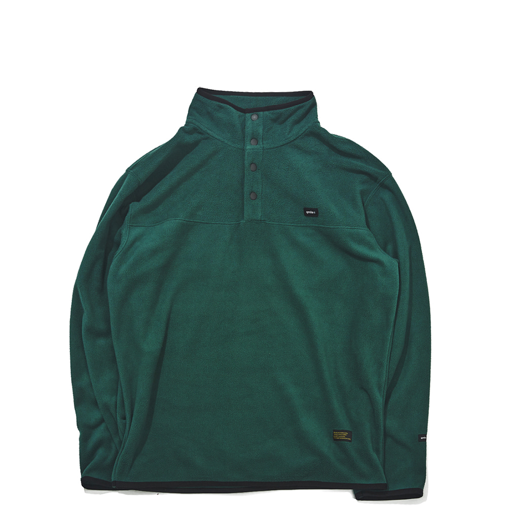 511 FLEECE PULLOVER 	DEEP GREEN