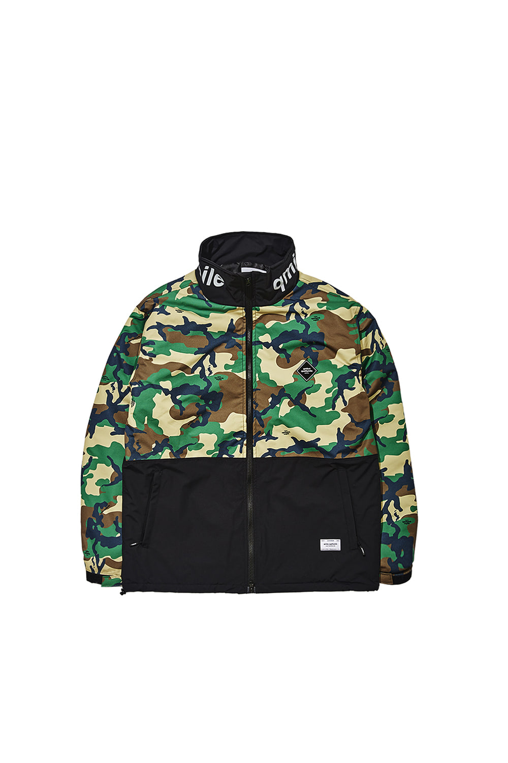HOODLESS JACKET | GREEN CAMOUFLAGE