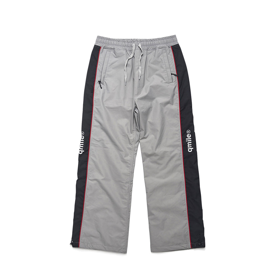 42B WIDE TRACK PANTS GREY