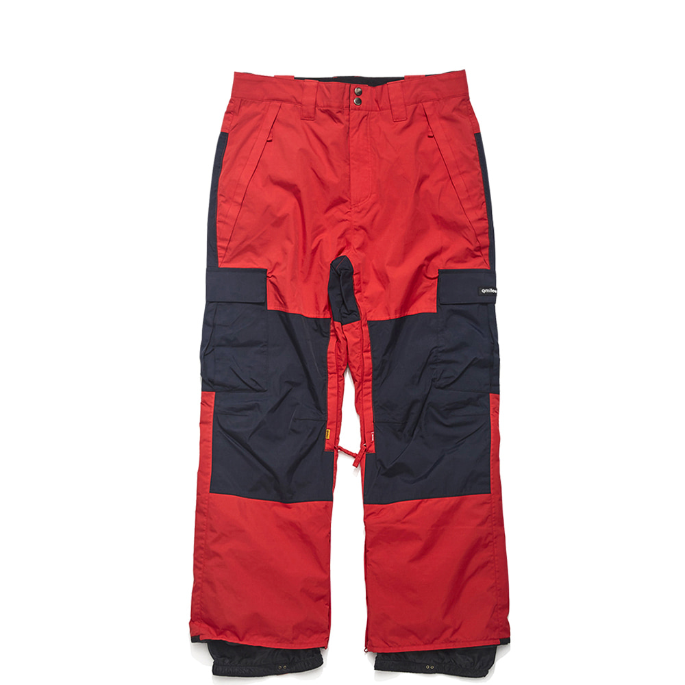 12A MESAN PANTS CHERRY RED